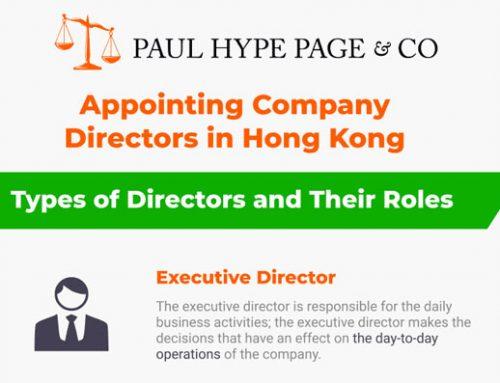Appointing Hong Kong Directors