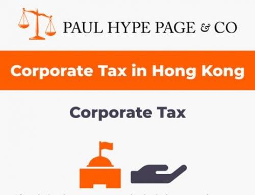 Hong Kong Corporate Tax