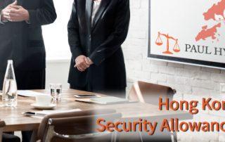 Social Security Allowance Scheme in Hong Kong