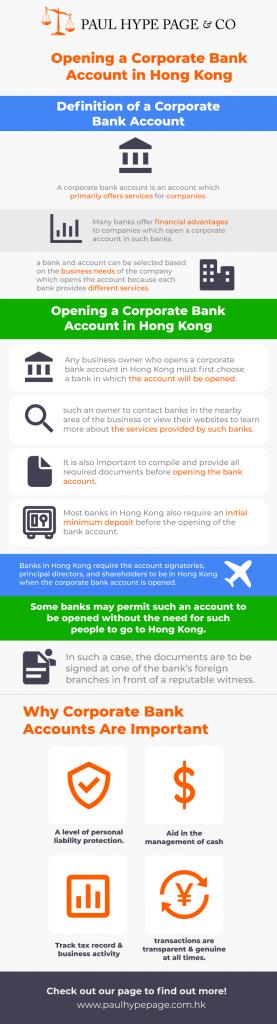 opening a company bank account in hong kong