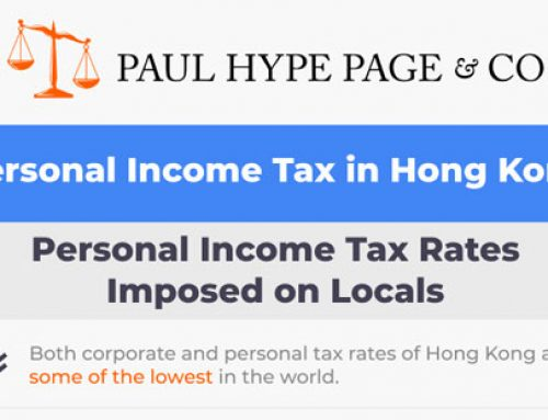 Hong Kong Personal Income Tax