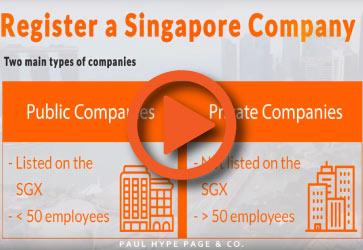 Register a SG Company