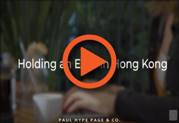 Holding an EGM in HK