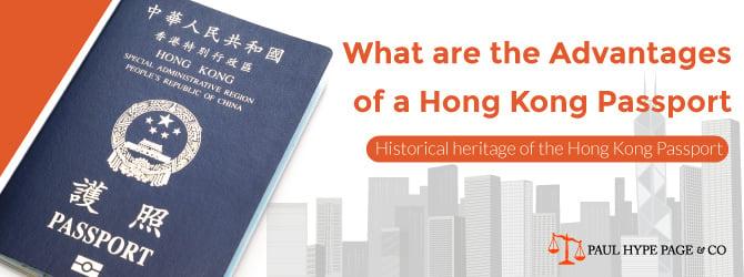 Advantages of a Hong Kong Passport