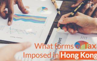 Tax in Hong Kong