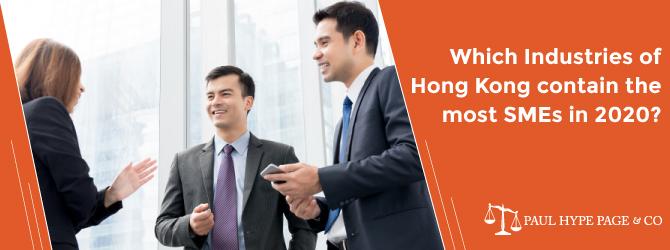 Breakdown of Hong Kong SMEs