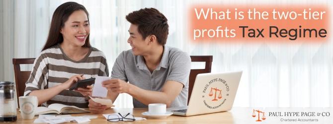two-tier profits Tax Regime