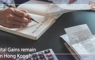 Capital Gains Tax 2020 Hong Kong