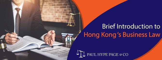 Hong Kong 's Business Law