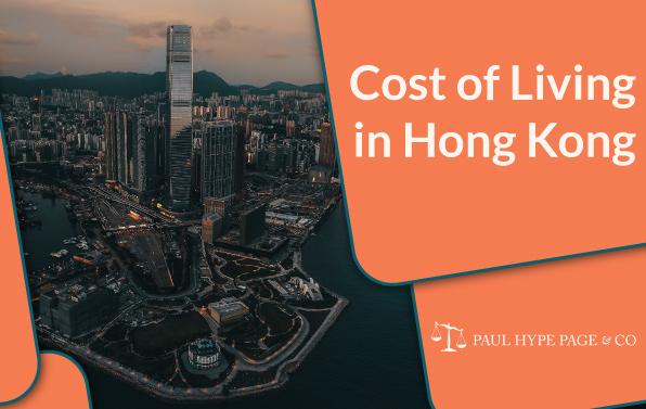 Living cost in Hong Kong