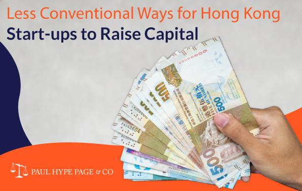 Hong Kong Start-ups to Raise Capital