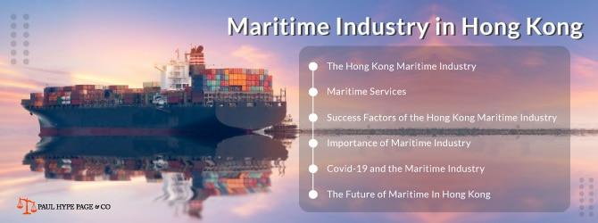 Hong Kong Maritime Industry