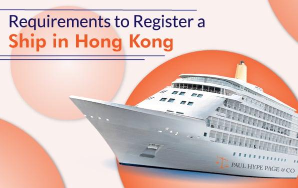 Register a Ship in Hong Kong