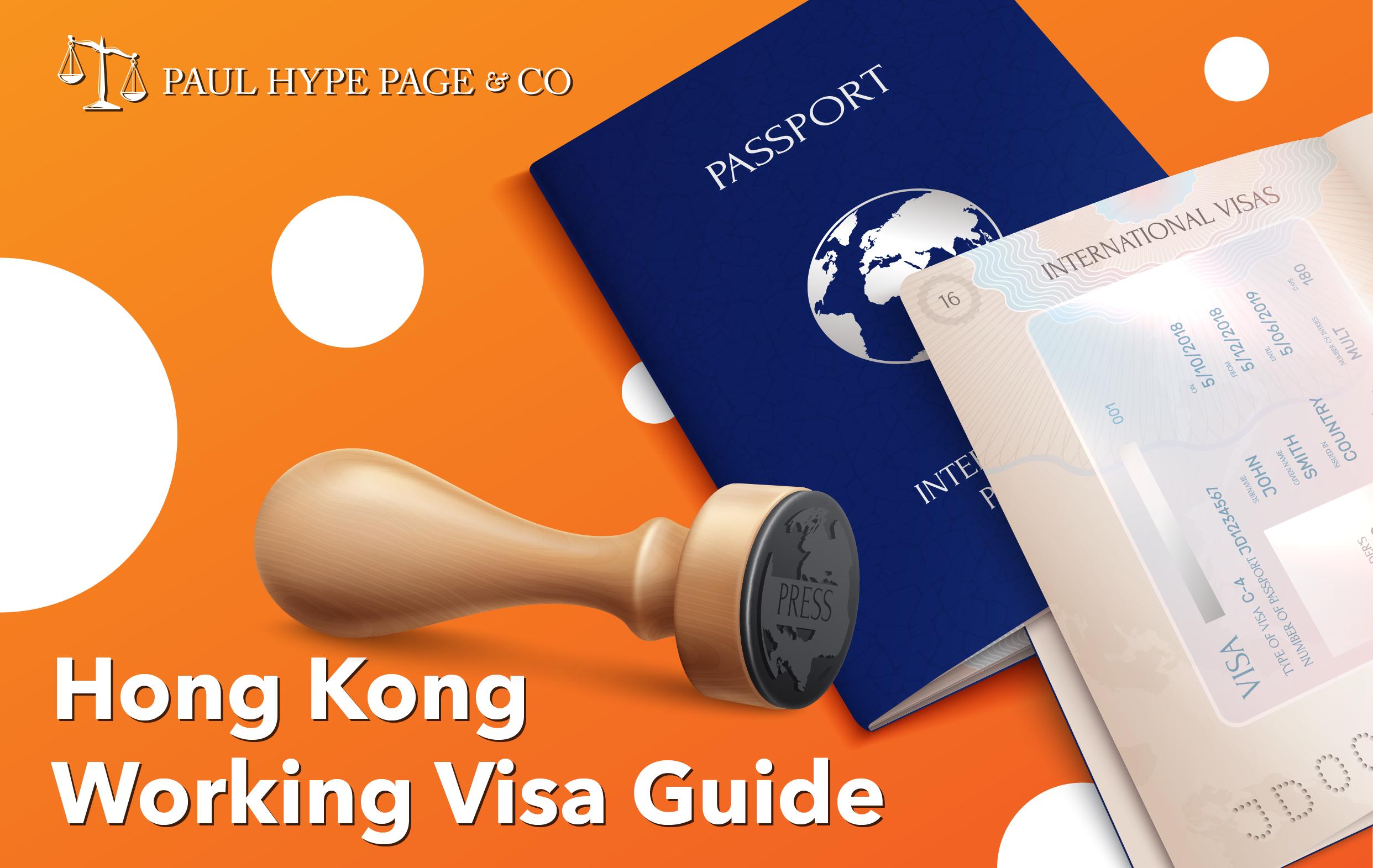 Working Visa Guide in Hong Kong