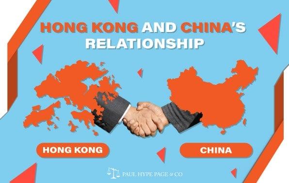 Relationship of Hong Kong and China