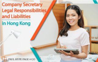 Hk Company Secretary Legal Responsibilities and Liabilities