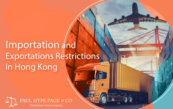 Importation and Exportations Restrictions