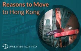 Reasons to Move to Hong Kong