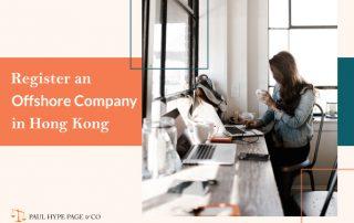 Register an Hong Kong Offshore Company