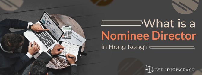 Nominee Director in Hong Kong